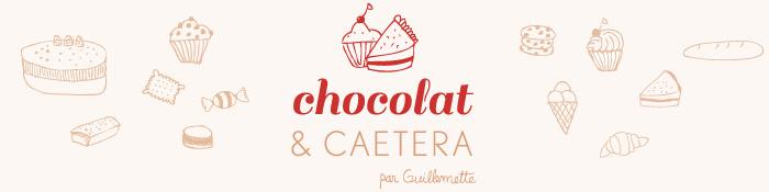 Chocolat & caetera, les recettes de Guillemette