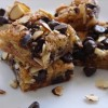 Almond toffee and chocolate bars