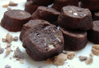 Biscuits tout moelleux au chocolat et au toffee