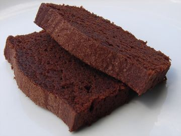Gateau au fondant chocolat
