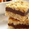 Carrés & cookies aux pépites de chocolat et aux flocons d'avoine