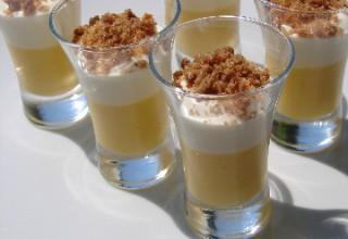 Mousse de mascarpone et lemon curd