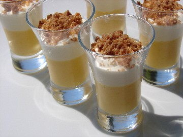 Mousse de mascarpone et lemon curd