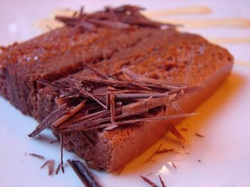 Mousse au chocolat mi-cuite mi-crue