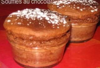 Soufflés au chocolat