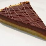 Tarte amandine au chocolat