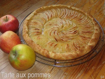 Tarte aux pommes extra fine