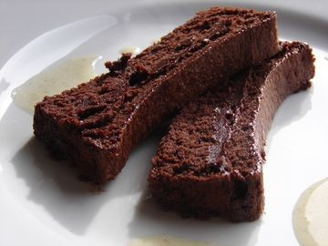 Truffade de chocolat noir