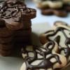 Sablés au gingembre confit, sablés au cacao