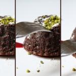 Fondant chocolat et poivre de Sichuan, coeur de framboises