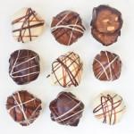 Petites bouchées au chocolat et au peanut butter