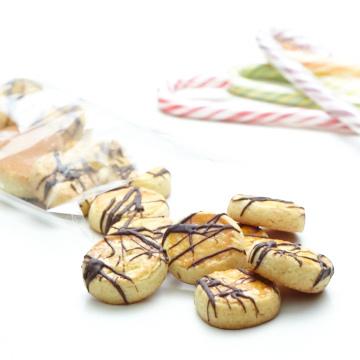 Biscuits aux oranges confites et au chocolat