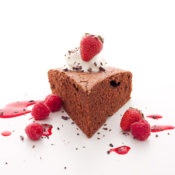 Gâteau au chocolat aérien