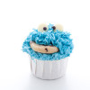 Cookie Monster Cupcakes : cupcakes aux pépites de chocolat