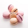 Macarons chocolat et framboise, macarons chocolat et mangue