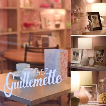 Chez Guillemette, salon gourmand à Lyon