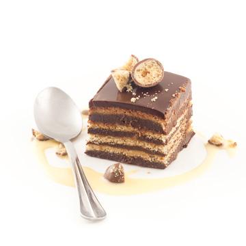 g teau aux th brun et au chocolat chocolat caetera. Black Bedroom Furniture Sets. Home Design Ideas