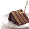 Gâteau rayé au chocolat