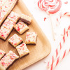 Fudge au chocolat et au sucre d'orge