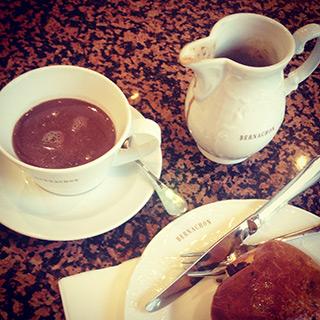 Chocolat chaud chez Bernachon, Lyon