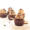 Cupcake au chocolat et à la crème de marrons