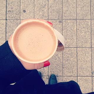 Chocolat chaud chez Debeaux à Lyon