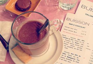 Chocolat chaud de la Maison Buisson
