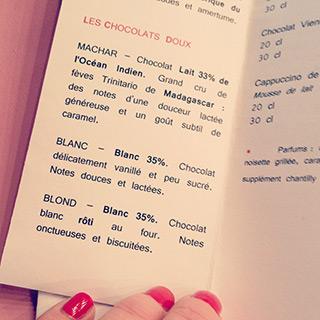 Maison Buisson, bar à chocolat