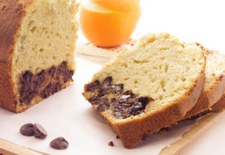 Cake express à l'orange et au chocolat