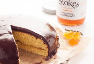 Gâteau à la marmelade d'oranges